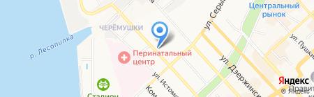 Премиум 2 на карте Хабаровска