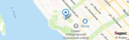 Эр Джи компани на карте Хабаровска