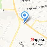 Мега ТЭК на карте Хабаровска