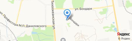 Водный физкультурно-оздоровительный комплекс на карте Хабаровска