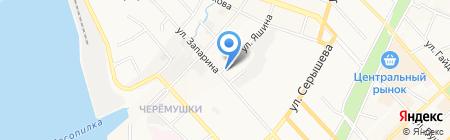 Банкомат Балтийский банк на карте Хабаровска