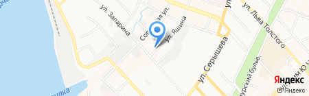 Женская консультация на карте Хабаровска