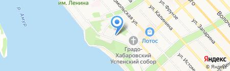 Дальневосточный центр эндоскопической ринологии на карте Хабаровска