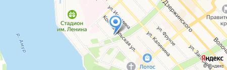 Спорт-Интур на карте Хабаровска