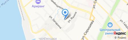 Лянь Фэн на карте Хабаровска