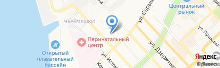 Сэлвэй на карте Хабаровска