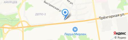 Ресурс на карте Хабаровска