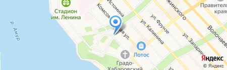 Музей археологии на карте Хабаровска