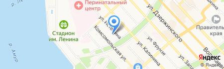 ЛАНИТ-ПАРТНЕР на карте Хабаровска