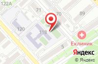 Схема проезда до компании Фирма 2К в Хабаровске