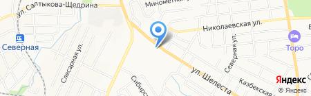 Фея на карте Хабаровска