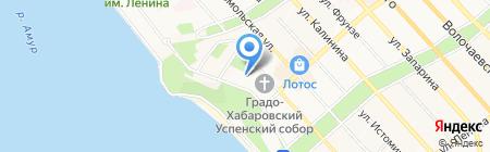 Свободный театр на карте Хабаровска