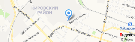 Служба заказа газового баллона на карте Хабаровска