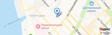 Стелс-ДВ на карте Хабаровска