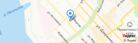 РоссельхозБанк на карте Хабаровска