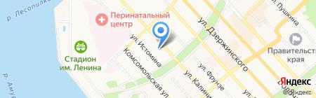 Шик на карте Хабаровска
