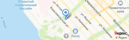 Финмастер на карте Хабаровска