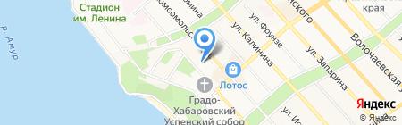 Новый дом на карте Хабаровска