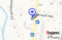 Схема проезда до компании ИНСПЕКЦИЯ РЫБООХРАНЫ в Арсеньеве