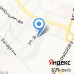 Икра на карте Хабаровска