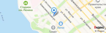 Bliss на карте Хабаровска