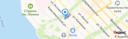 Центр Развития Инвестиций на карте Хабаровска