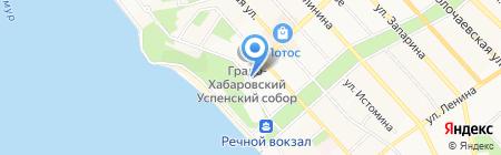 Нотариус Пшеничникова С.А. на карте Хабаровска