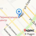 Курьер27 на карте Хабаровска