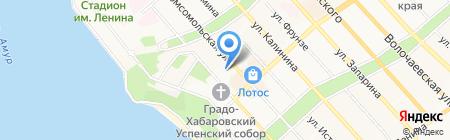 Планета путешествий на карте Хабаровска