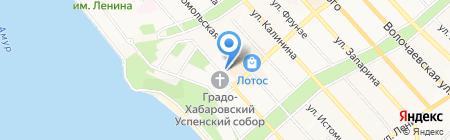 ИСТСАЙД на карте Хабаровска