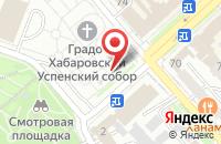 Схема проезда до компании Энерго Ресурс в Хабаровске