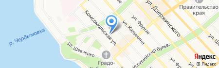 Orizzonte studio на карте Хабаровска