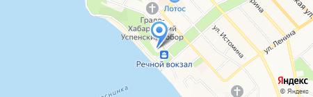 Дом официальных приемов Правительства Хабаровского края на карте Хабаровска