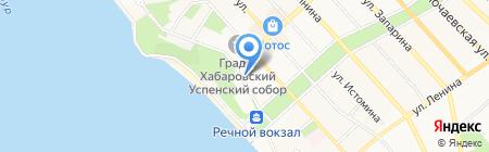 Средняя общеобразовательная школа №35 на карте Хабаровска