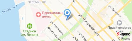 Центр по работе с клиентами вневедомственной охраны по городу на карте Хабаровска