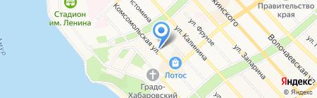 АКБ Инвестторгбанк на карте Хабаровска