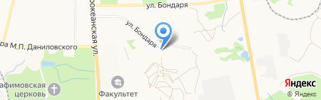 ГСК №162 на карте Хабаровска