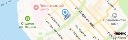 Согаз на карте Хабаровска