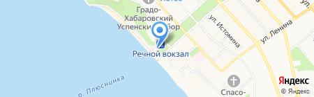 Компания Фиеста Тур на карте Хабаровска
