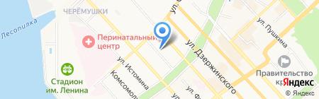 Отдел полиции №10 на карте Хабаровска