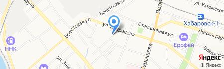 Восточное региональное управление жилищного обеспечения Министерства обороны Российской Федерации на карте Хабаровска