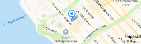 Банкомат Росгосстрах Банк на карте Хабаровска