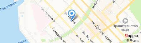 Величко и партнеры на карте Хабаровска