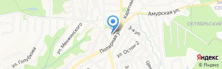 Полярный на карте Хабаровска