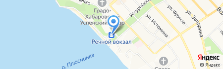 Зодиак на карте Хабаровска
