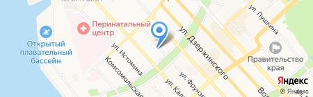 Red Point на карте Хабаровска