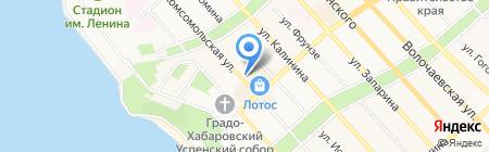 Портал на карте Хабаровска