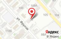 Схема проезда до компании GA general в Хабаровске