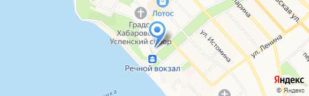 Хабаровский НИИ эпидемиологии и микробиологии на карте Хабаровска