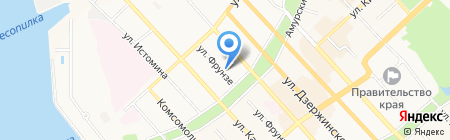 Нива на карте Хабаровска